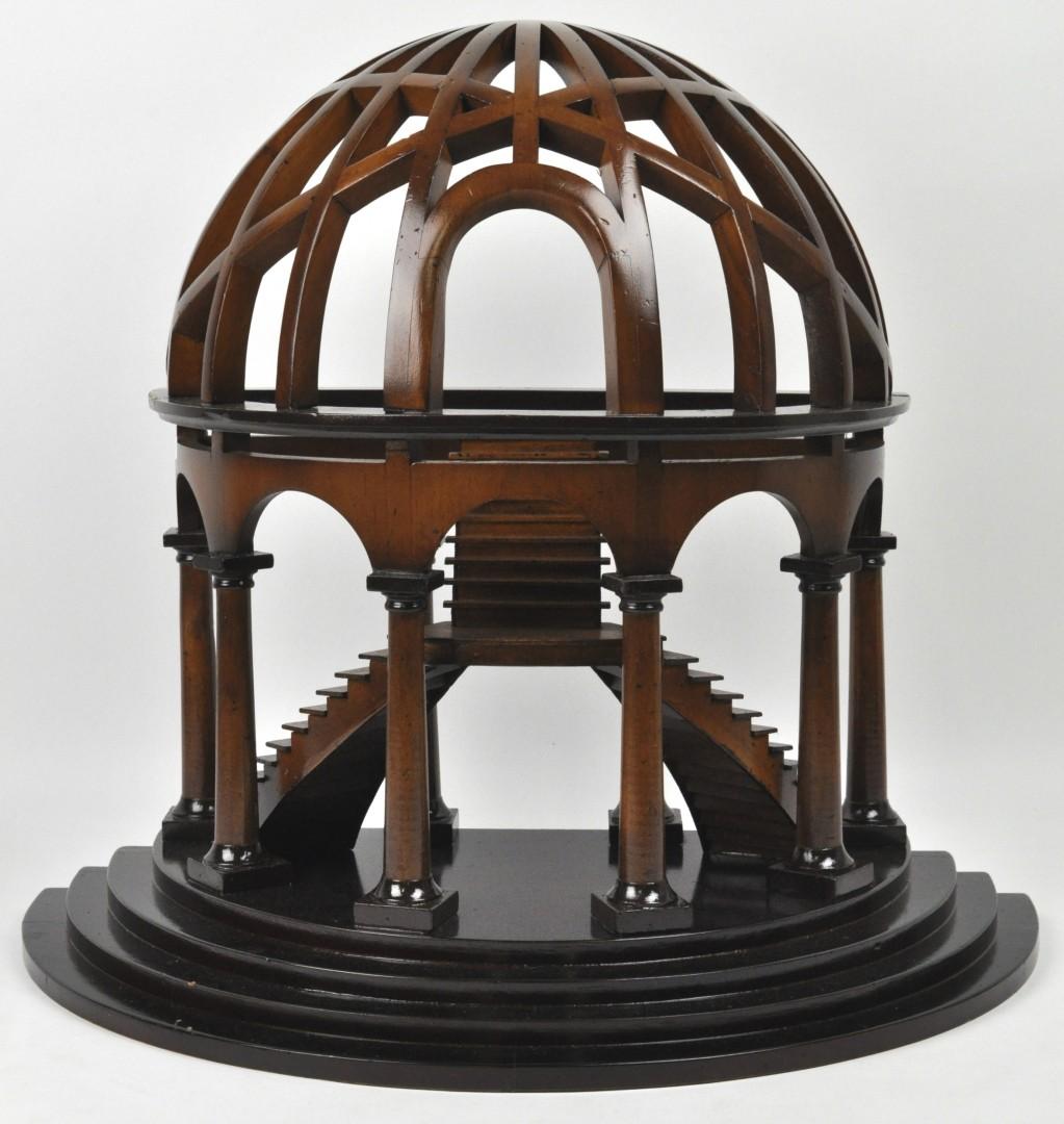 Een mahoniehouten meesterstuk in de vorm van een trappenhuis in koepel jordaens n v veilinghuis - Vervoeren van een trappenhuis ...