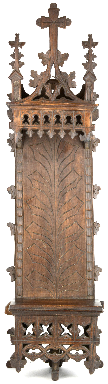 Een hangconsole van gesculpteerd notenhout in neo gotische stijl jordaens n v veilinghuis - Stijl asiatique ...