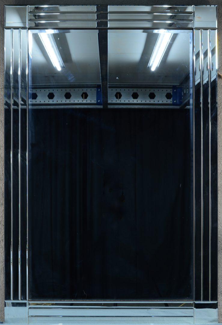 Een spiegel van geslepen glas in art deco stijl jordaens n v veilinghuis - Arcade spiegel ...