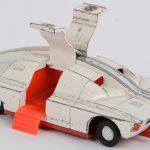 """""""High security vehicle"""". No. 105. Een speelgoedauto."""