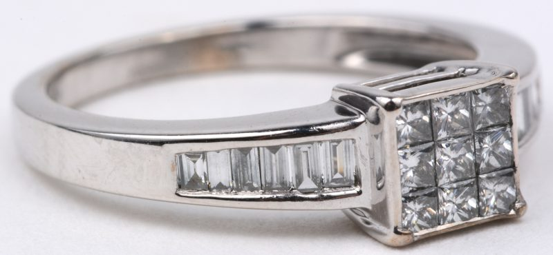 waarde briljanten ring