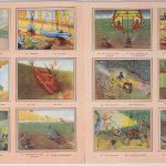"""""""'t jaar 2000"""". Een Chromo-album, uitgegeven door Chocolat Aiglon. Met illustraties van Léon Goetgeluck. 1953."""