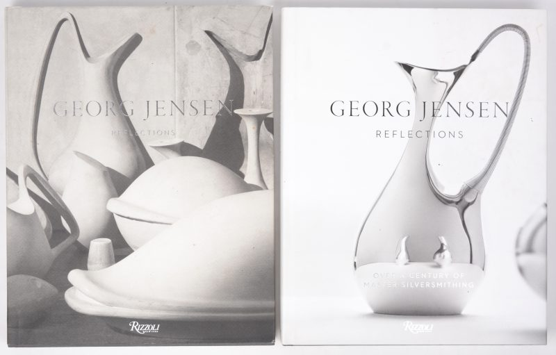 """Georg Jensen reflections"". Twee mooi geïllustreerde catalogi. Rizzoli New York, 2014."