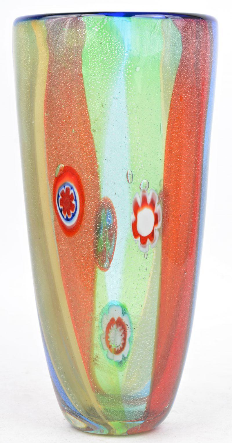Een glazen vaas