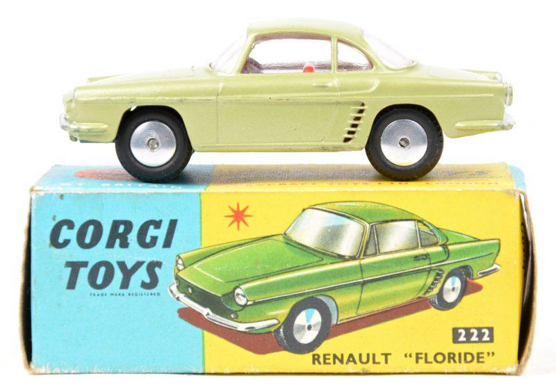 """""""Renault Floride"""". Een speekgoedauto in originele doos. Goede staat."""