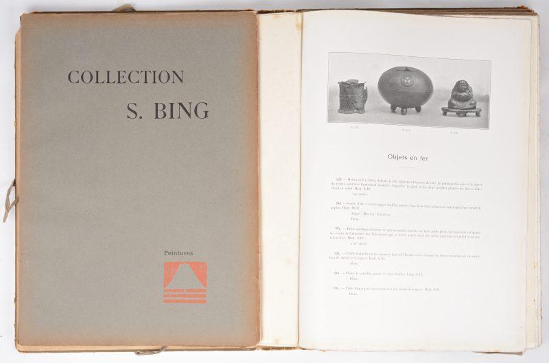 """""""Collection S. Bing"""" - Complete catalogus van de Oosterse collectie. In 6 delen en met originele kaft."""