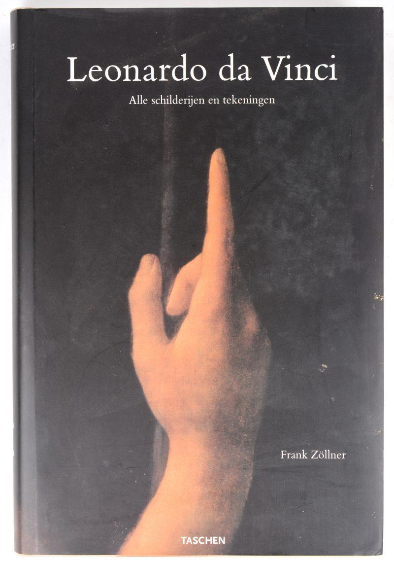 """""""Leonardo Da Vinci. Alle schilderijen en tekeningen"""". Een kunstboek. Frank Zöllner. Ed. Taschen, 2003."""