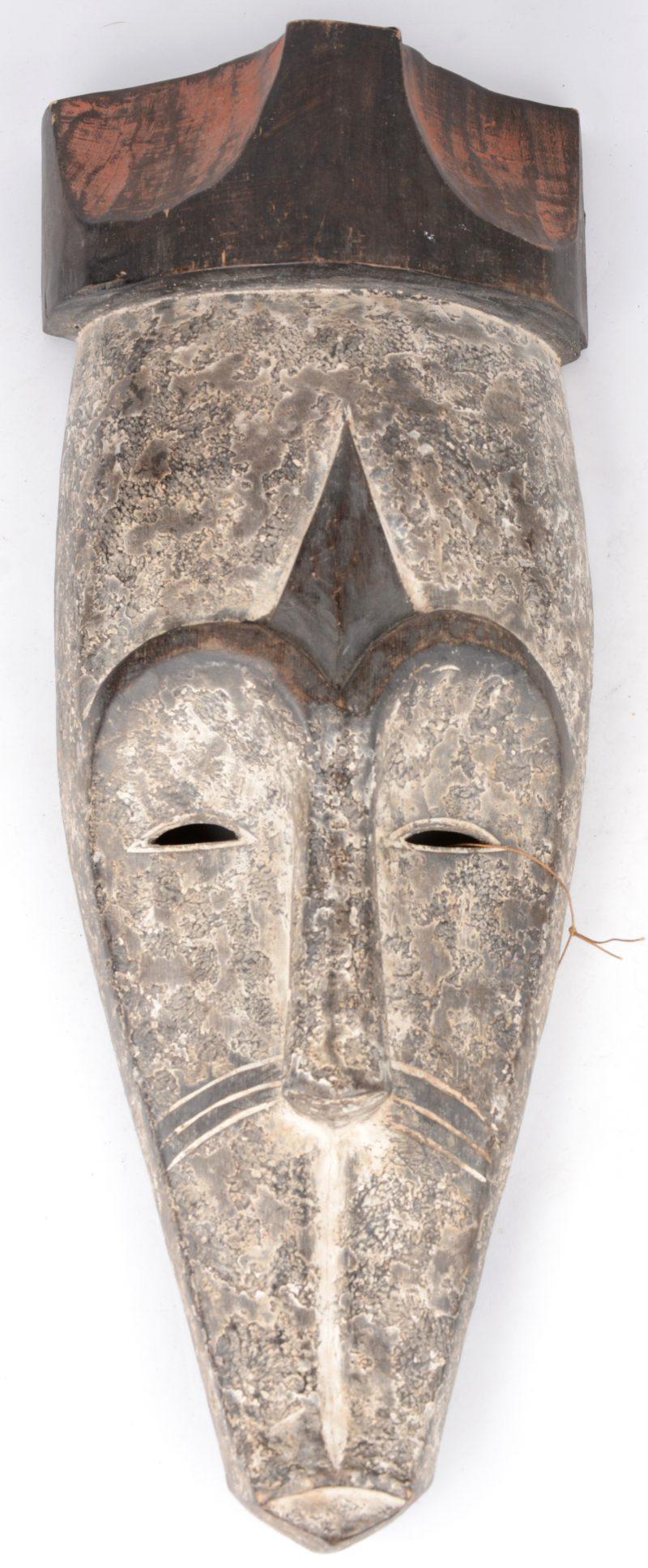 Afrikaans masker. Fang, Gabon.