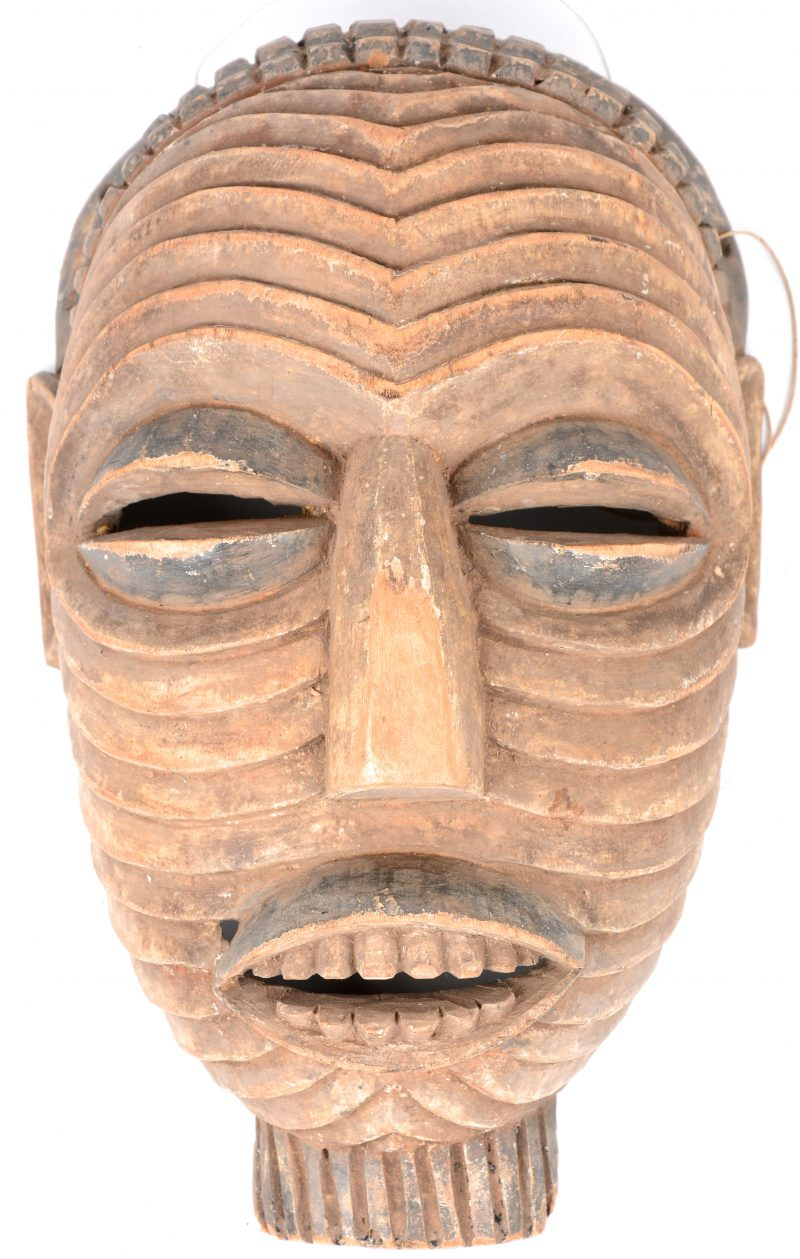 Afrikaans masker. Luba, Congo.