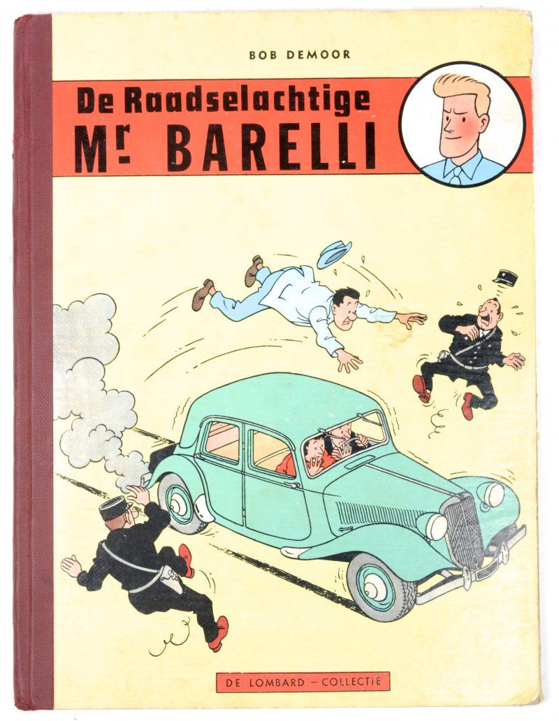 """De raadselachtige Mr. Barelli. Eerste uitgave. Ed. Lombard, 1956."