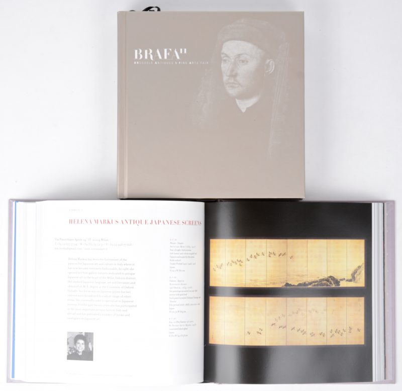 """Brafa '11"" & ""Brafa '12"". Twee catalogi van de Brussels antiques & fine art fair, uitgegeven door Delen Private bank."