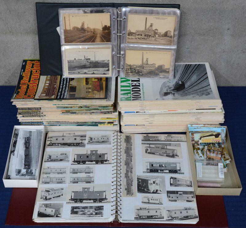 """""""Railway Modeller"""" & """"Model Railway Constructor"""". Een groot lot Engelstalige tijdschriften met betrekking tot modelbouw."""