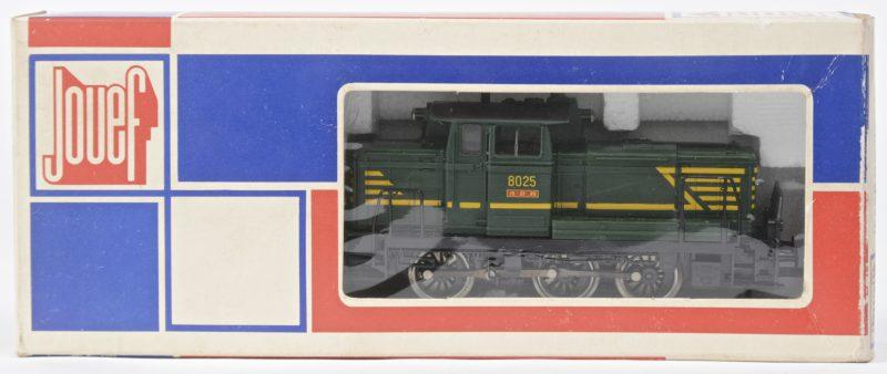 Een ABR type 8000 diesellocomotief van de NMBS. Spoortype HO. In originele doos.
