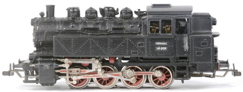 Een BR 81 tenderlocomotief van de Duitse spoorwegen op schaal HO. Zonder verpakking.