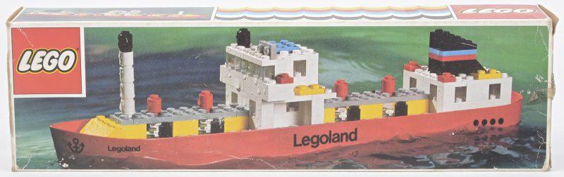 """""""Legoland tanker"""". Een bouwkit in originele doos. Met boekje."""