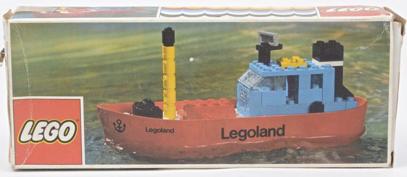 """""""Legoland kustwacht"""". Een bouwkit in originele doos. Met boekje. 1973."""