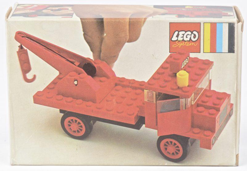 """""""Takelwagen"""". Een bouwkit in originele doos. Met boekje. 1971."""