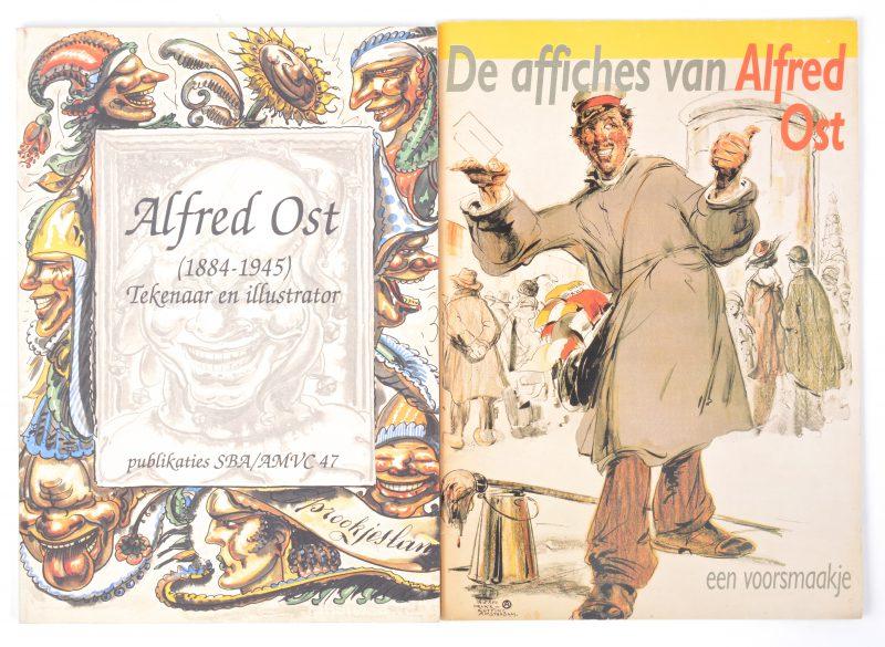 Twee uitgaven met betreking tot Alfred Ost.