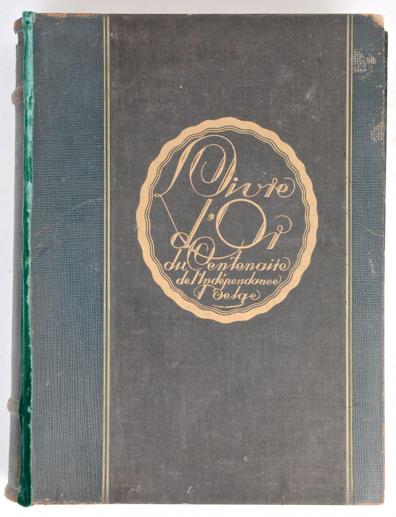 """""""Livre d'or du centenaire Belge""""."""