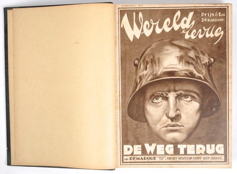 De Weg Terug. Jaargang 1, vanaf Februari 1931. Ingebonden.