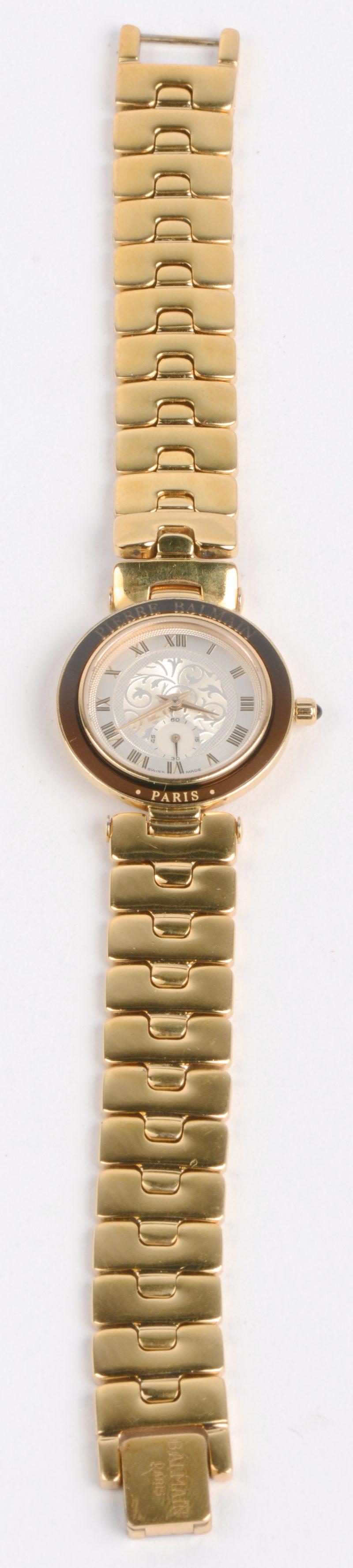 Een roestvrij stalen horloge in originele doos. Swiss Made.