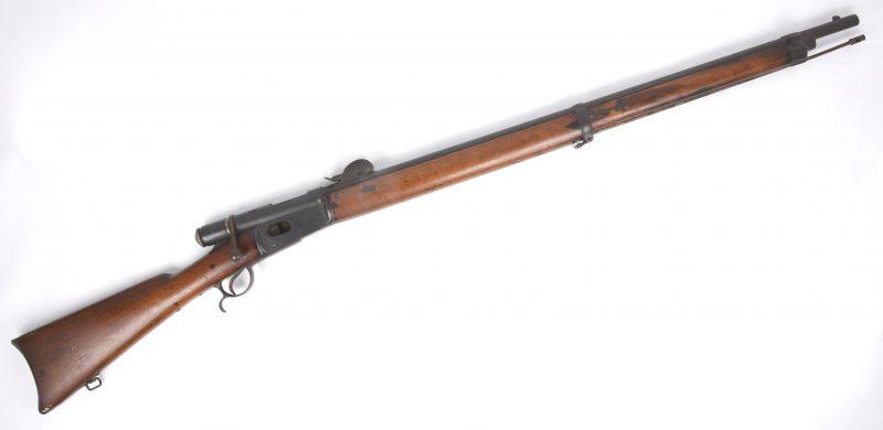 Een Vetterli grendelgeweer M81. Cal. 10.4 mm.