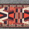 Een lange strook tentboord met geometrisch motief. Iran, begin XXste eeuw.