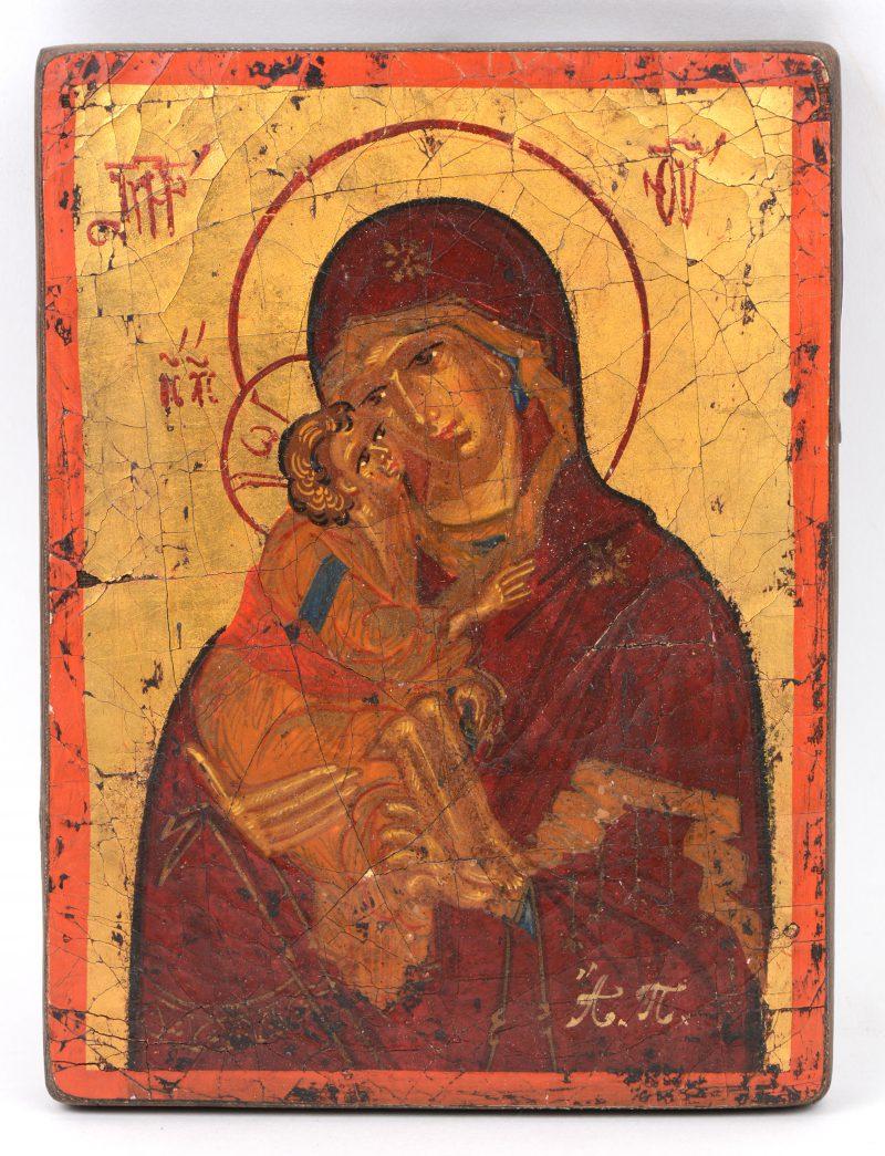 """""""Moeder Gods"""". Een recent icoon."""